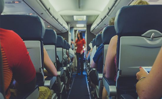 servant leadership people on plane listening to flight attendant