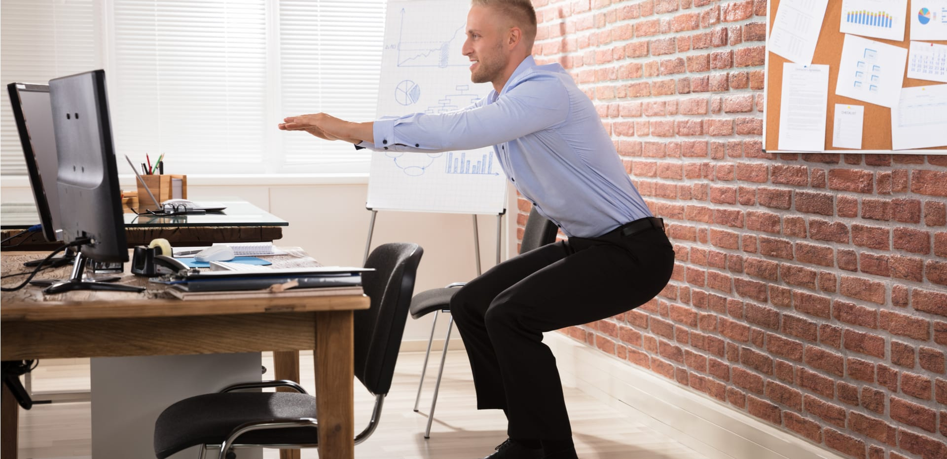 Stupendous 5 Invigorating Desk Exercises To Do At Work Tony Robbins Gmtry Best Dining Table And Chair Ideas Images Gmtryco