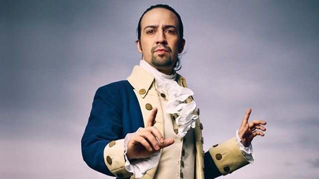 Lin-Manuel Miranda as Hamliton. Photo credit: Mark Seliger for Rolling Stone