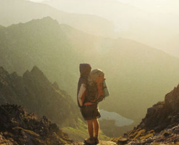 what's your driving force behind your actions backpacker on mountaintop