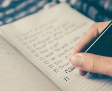 How to get motivated and get things done person writing