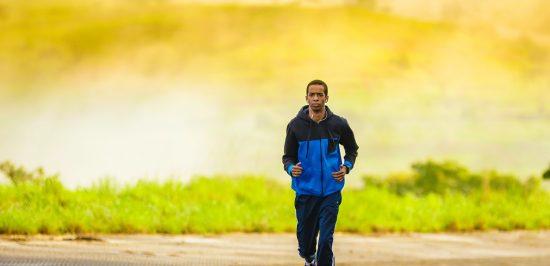 what motivates you to take action man jogging