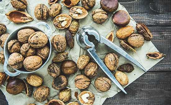 diets that work chestnuts and macadamias
