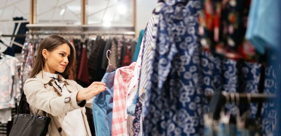 why we purchase things woman shopping clothes