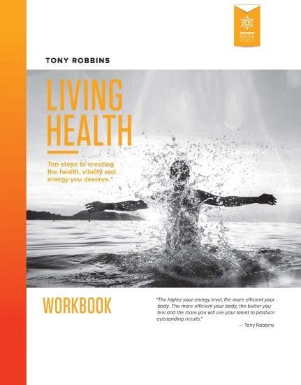 Download Tony Robbins Free Living Health Summary Cards