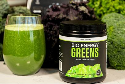 tony robbins bioenergy greens supplements