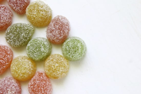 sugar coated candies