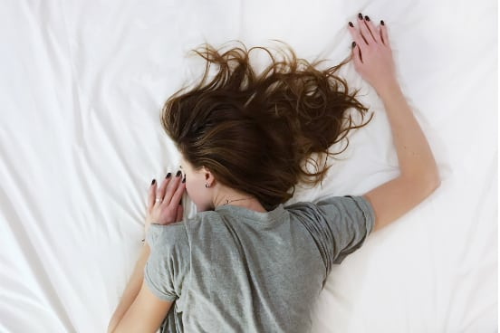 woman dealing with panic attack