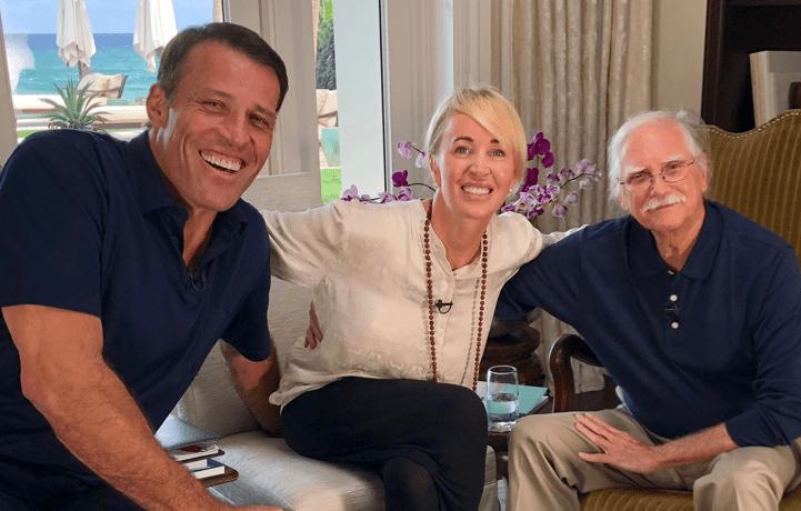 Michael Singer, Tony Robbins and Sage Robbins
