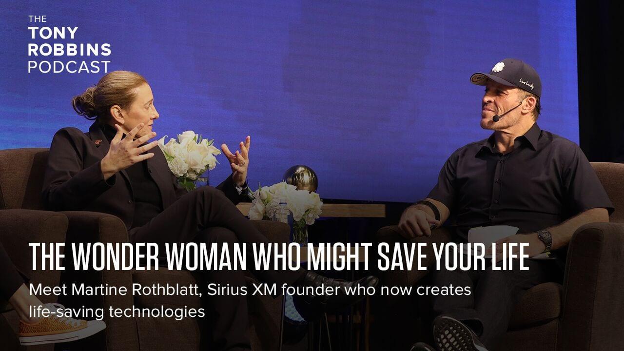 The Wonder Woman who might save your life   tonyrobbins com