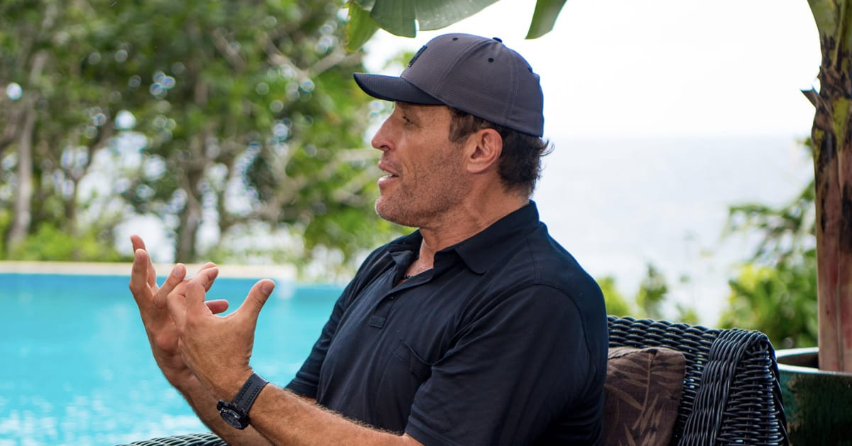Which questions does Tony ask every entrepreneur?   tonyrobbins.com