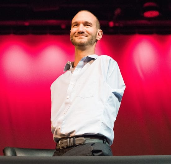 Nick Vujicic inspirational speakers