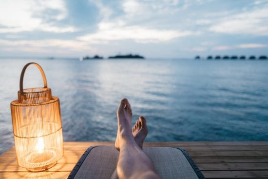 the need to relax when selling a business