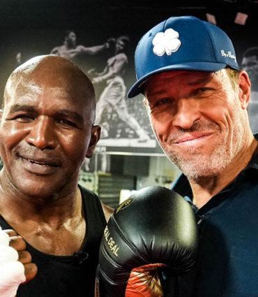 boxing legend Evander Holyfield