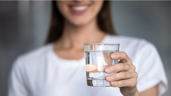 drinking water is a key to lose weight