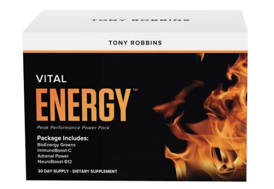 vital energy tony robbins
